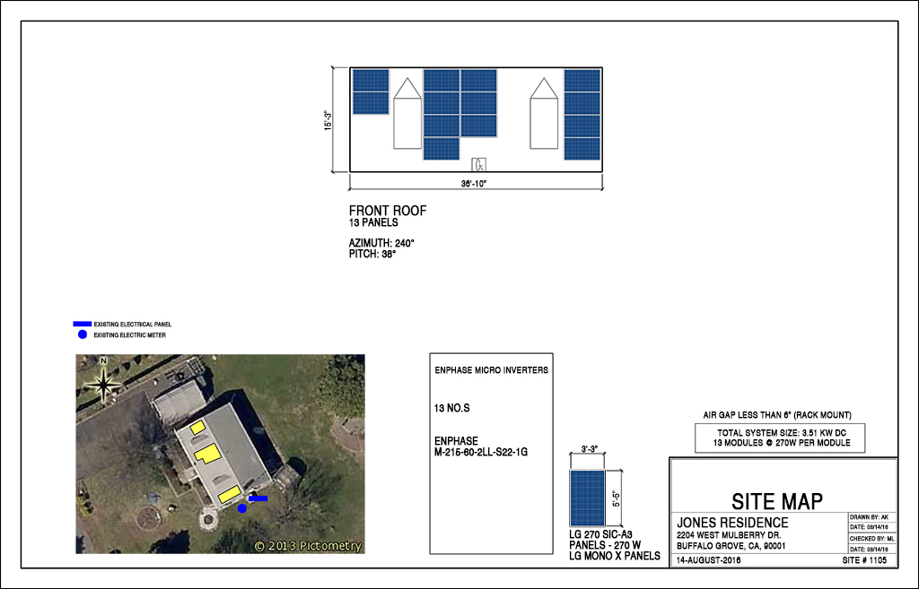 Solar Pv Design And Permitting Drafting Services Pentadesk